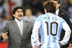 Maradona wants Messi to change mind about retiring