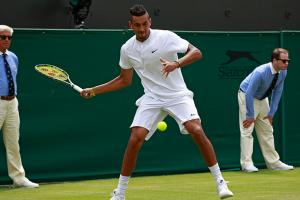 Watch: Nick Kyrgios's impressive tweener lob