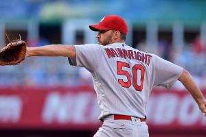 St. Louis Cardinals' Adam Wainwright almost killed a bird with pitch