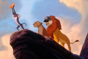 Watch: Michigan player recreate The Lion King