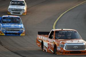 Nascar truck series fight gets Jim Ross soundtrack