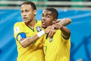 Neymar, Douglas Costa lead Brazil's Olympic roster