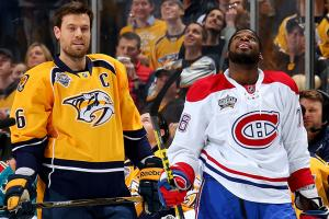 Candaiens' Subban traded to Preds for Shea Weber