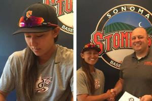 Sonoma Stompers sign two female players