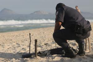 Human body parts wash up on Olympic beach in Rio