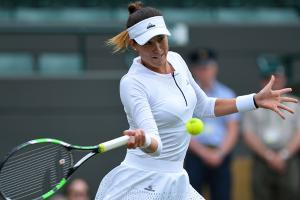 Muguruza upset by Cepelova at Wimbledon