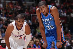 Clips want Paul, Griffin and Jordan to meet Durant