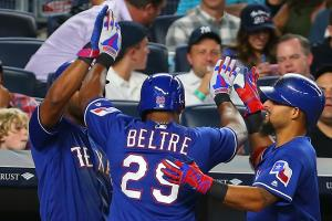 Watch: Never, ever touch Adrian Beltre's head