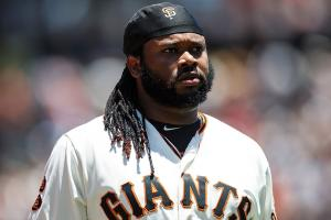 Johnny Cueto shared a photo of his dead horse