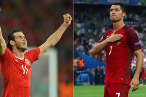 First Look: Portugal-Wales in Euro 2016 semifinals