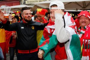 Key moments, goals in Wales vs Belgium, Euro 2016