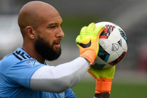 Tim Howard returns to MLS with the Colorado Rapids against the Portland Timbers