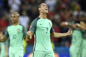 Cristiano Ronaldo and Portugal are off to the Euro 2016 final