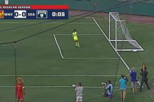 NWSL holds match on small pitch