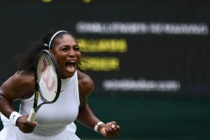 Serena Williams beats Kerber in Wimbledon final
