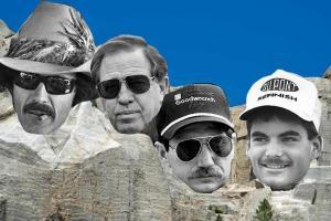 NASCAR's Mount Rushmore