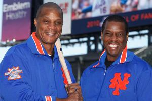 Darryl Strawberry and Dwight Gooden, New York Mets