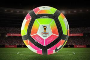 CONCACAF Champions League ball is very, very neon