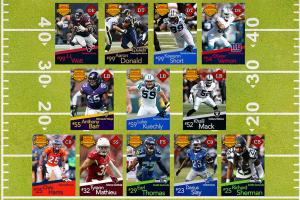 Five-Year Dynasty: Building a dream NFL defense