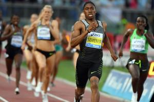 Caster Semenya runs fastest women's 800 since 2008