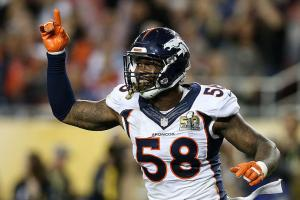 Von Miller, Broncos agree on new six-year, $114 contract.