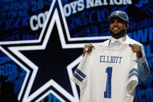 ezekiel elliott dallas cowboys best selling jersey