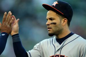 Jose Altuve sings 'I Want It That Way'