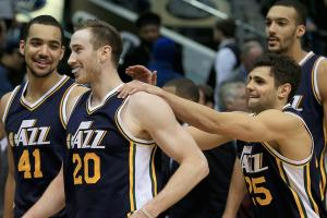 Jazz take slight detour from developmental road