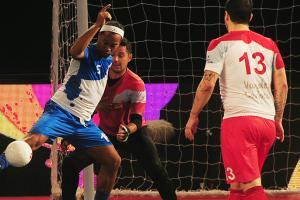 Watch: Ronaldinho dominates Indian futsal match