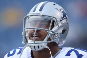 DE Greg Hardy works out for Jaguars