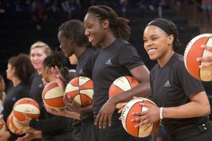 WNBA fines players for supporting shooting victims