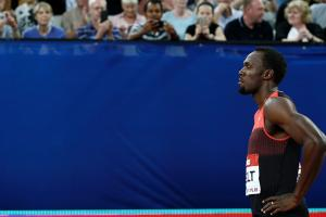 Watch: Usain Bolt returns with 19.89 win in London