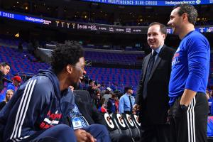 Joel Embiid posts tribute to Sam Hinkie