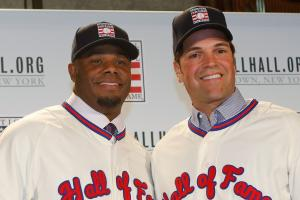 Griffey Jr., Piazza inducted into Hall of Fame