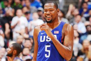 Kevin Durant ignites USA's shooting to crush China