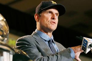 Can Michigan win it all? Jim Harbaugh thinks so