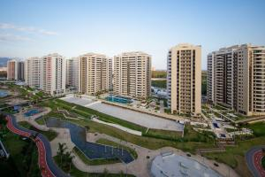 More than half of Olympic village is unfinished