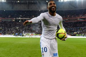 Lyon's Alexandre Lacazette is wanted by Arsenal