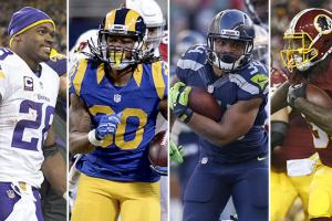 The MMQB's Running Back Fantasy Rankings