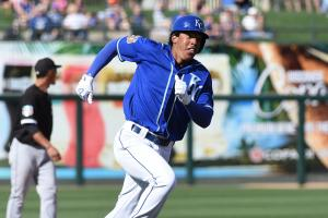 Royals call up top prospect Raul Mondesi
