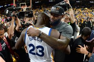 Draymond Green denies any 'beef' with LeBron