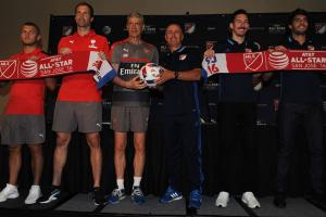 MLS takes on Arsenal in the All-Star Game in San Jose