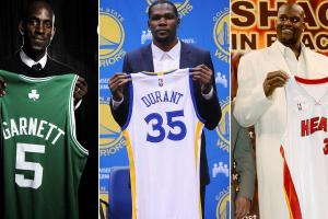 Where does Durant-to-Warriors rank in NBA history?