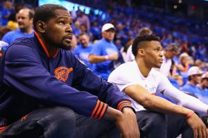 Durant told Westbrook he was staying in OKC