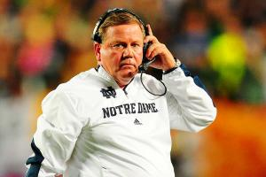 Notre Dame head coach Brian Kelly could be in a for a long season without key players alleged of cheating.