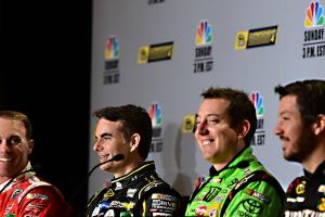 Q&A: NASCAR's final four talk Chase finale, more