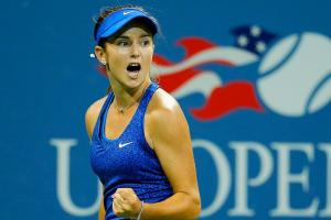 Catherine 'CiCi' Bellis captivated audiences with her breakthrough performance at the U.S. Open, but lost Thursday night.