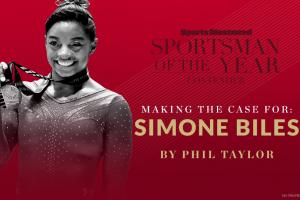 Case for Simone Biles for SI's 2015 Sportsman