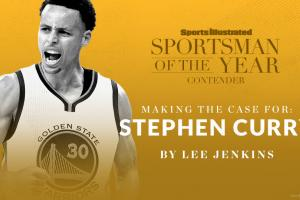 Case for Steph Curry for Sportsman of the Year