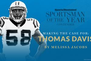 Case for Thomas Davis for Sportsman of the Year